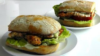 Chicken Burger Cajun Spiced How To Make Recipe Bbq Food