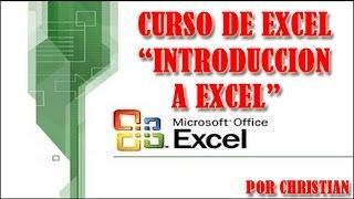 Curso de Excel Atualizado (Introducción a Excel y conociendo las herramientas bien explicado)