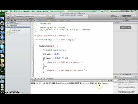 Conditional Programming in Objective C