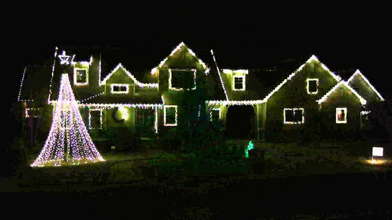 Let It Snow - 2012 Mcintire Christmas Light Show - Edmond, OK ...