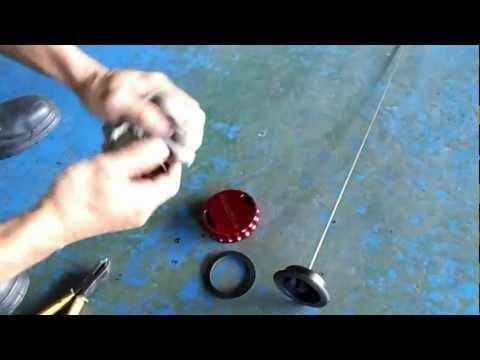 AEROTUN ALLOY OIL CAP  DIY