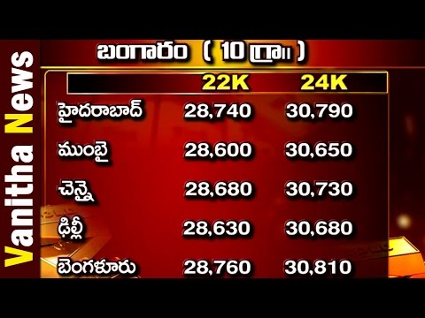 Today Gold and Silver Rate in India || Vanitha News|| Vanitha TV