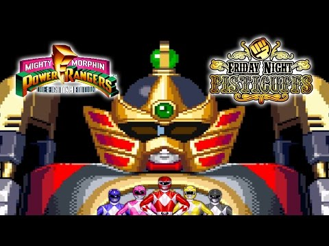 Friday Night Fisticuffs - Mighty Morphin' Power Rangers: The Fighting Edition