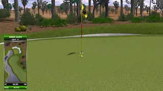 Golden Tee Great Shot on Palm Springs!