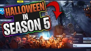 HOW TO GET ANY LOBBY BACKGROUND YOU WANT! (HALLOWEEN, SEASON 1) [Fortnite]