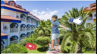 Room-тур территории отеля / рум тур по отелю / Sailor's Beach Club / отдых в Турции