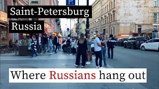 Vlog Saint-Petersburg - Russian people on the street (RU / EN subs)