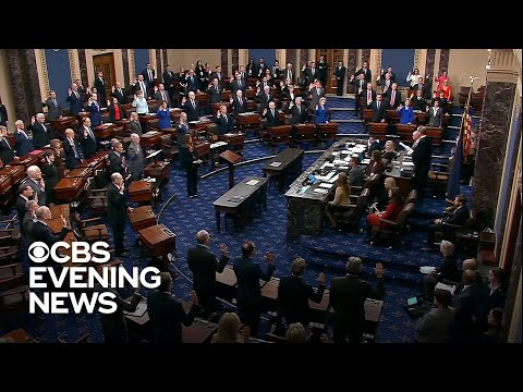 Articles of impeachment formally delivered to Senate