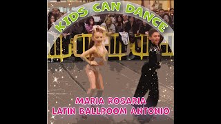 Latin Ballroom Antonio & Maria Rosaria [KIDS CAN DANCE] HD