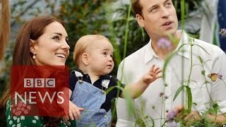 Life in the limelight for royal baby - BBC News