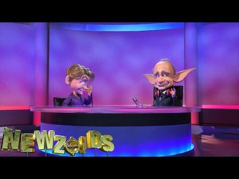 Newzoids - Yvette Cooper & Evan Davis on Newznite, episode 6