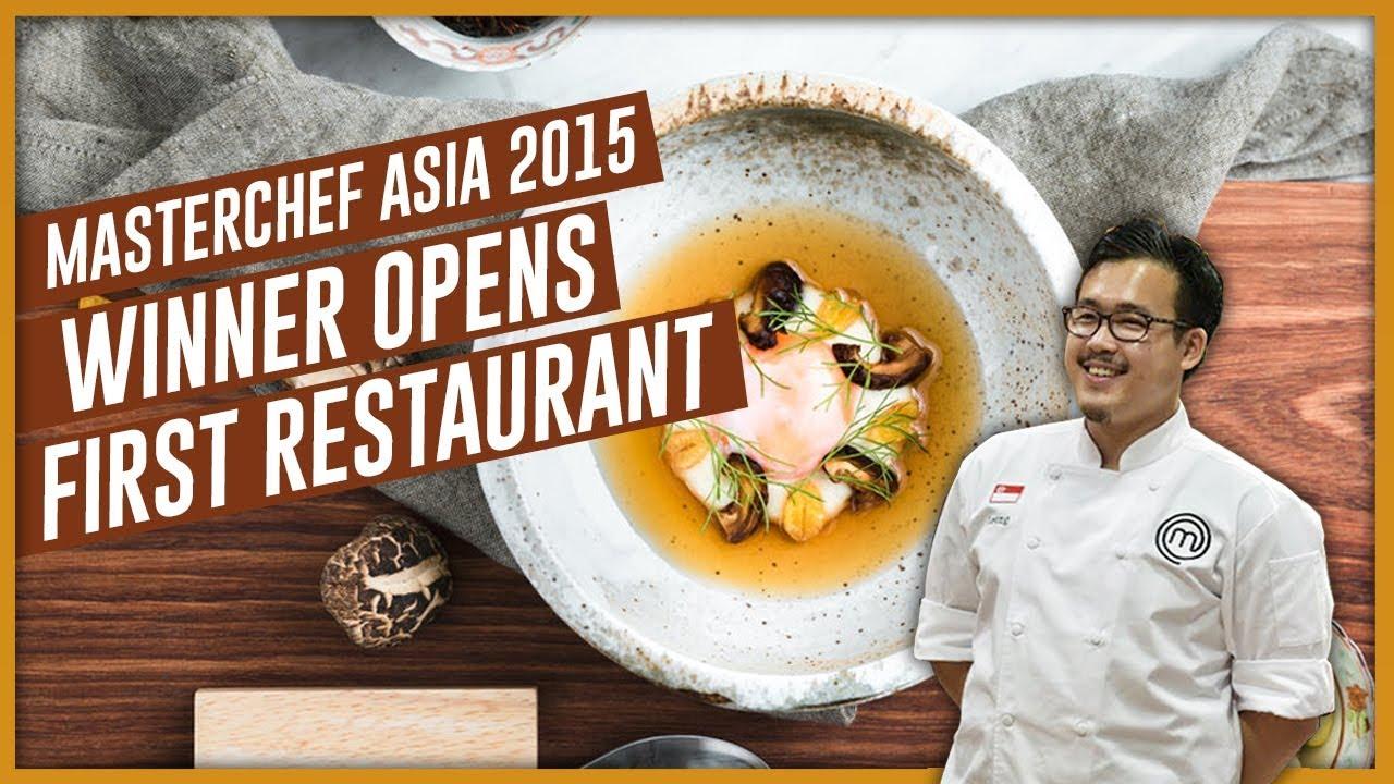 Download Masterchef Asia Winner Opens First Restaurant In Singapore