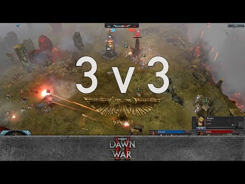 Dawn of War 2 - Faction Wars 2018   Chaos Space Marines vs Orks