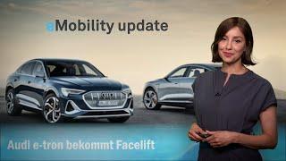eMobility update: Audi e-tron bekommt Facelift, Elektro-Umbruch bei Jaguar, Honda Ultium-Stromer.