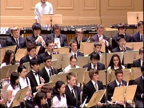 """Variations on """"America"""" by Charles Ives, 2011 Massachusetts All-State Concert Band"""