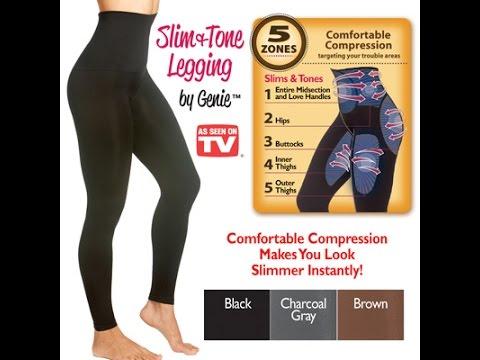 66834e9b6411a Slim & Tone Legging by Genie Show & Tell - YouTube