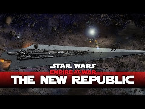 New Republic - Super Star Destroyer - Thrawns Revenge - Ep4- (Star Wars RTS Lets Play)