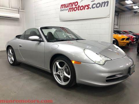 2002 Porsche Carrera Cabriolet 911 996 Munro Motors