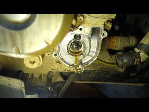 Квадроцикл  замена помпы .BRP  OUTLANDER / ROTAX 500.650.800.1000