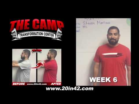 Pico Rivera Weight Loss Fitness 6 Week Challenge Results - Steven Martinez