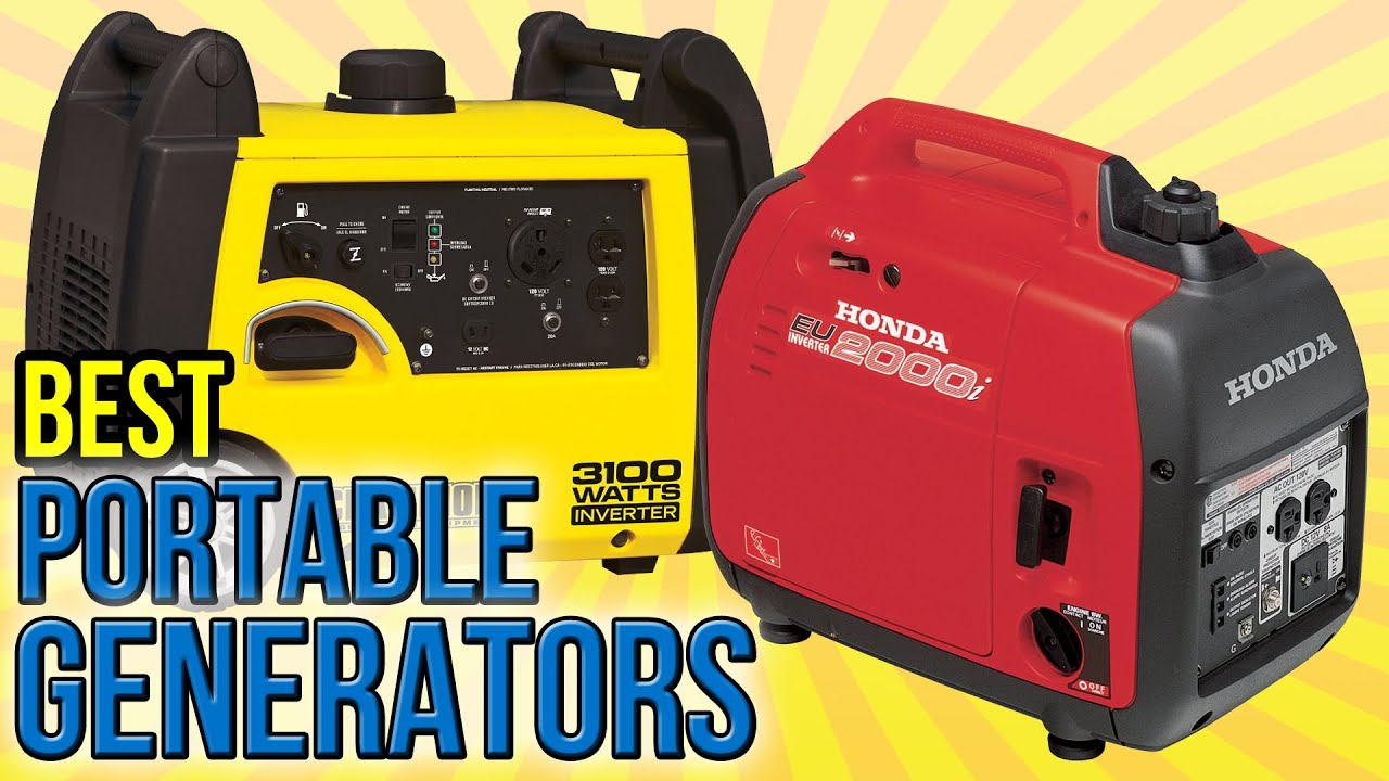 10 Best Portable Generators 2016