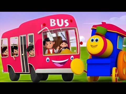 Wheels On The Bus | Bob The Train | Nursery Rhymes For Babies | Kids TV