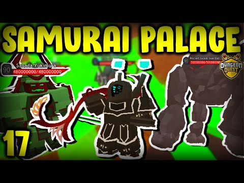 REACHING SAMURAI PALACE! Noob To Pro #17 | Dungeon Quest (Roblox)