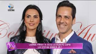Teo Show (02.10.2018) - Lavinia Pirva i-a scos la film pe copiii lui Stefan Banica Jr.! Pa ...