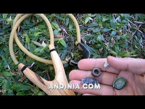 Gomera, tirachinas o resortera - Slingshot or Hand Catapult - Estilinge, atiradeira ou fisga