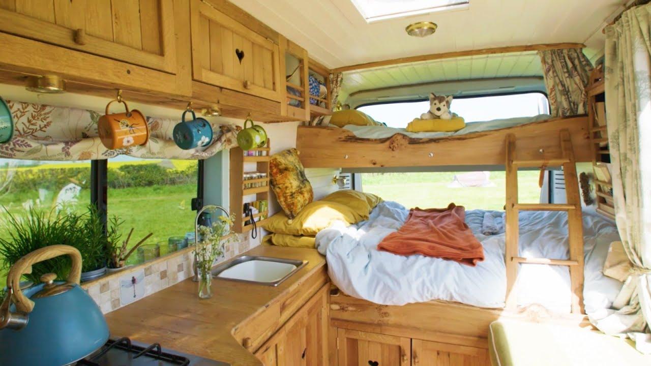 Family Van Tour Removable Bunk Bed