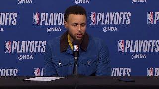 Stephen Curry Postgame Interview - Game 6 | Warriors vs Rockets | 2019 NBA Playoffs