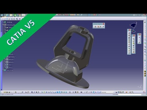 User Wish Bonnet Catia v5 Training - Union Trim - Multibody