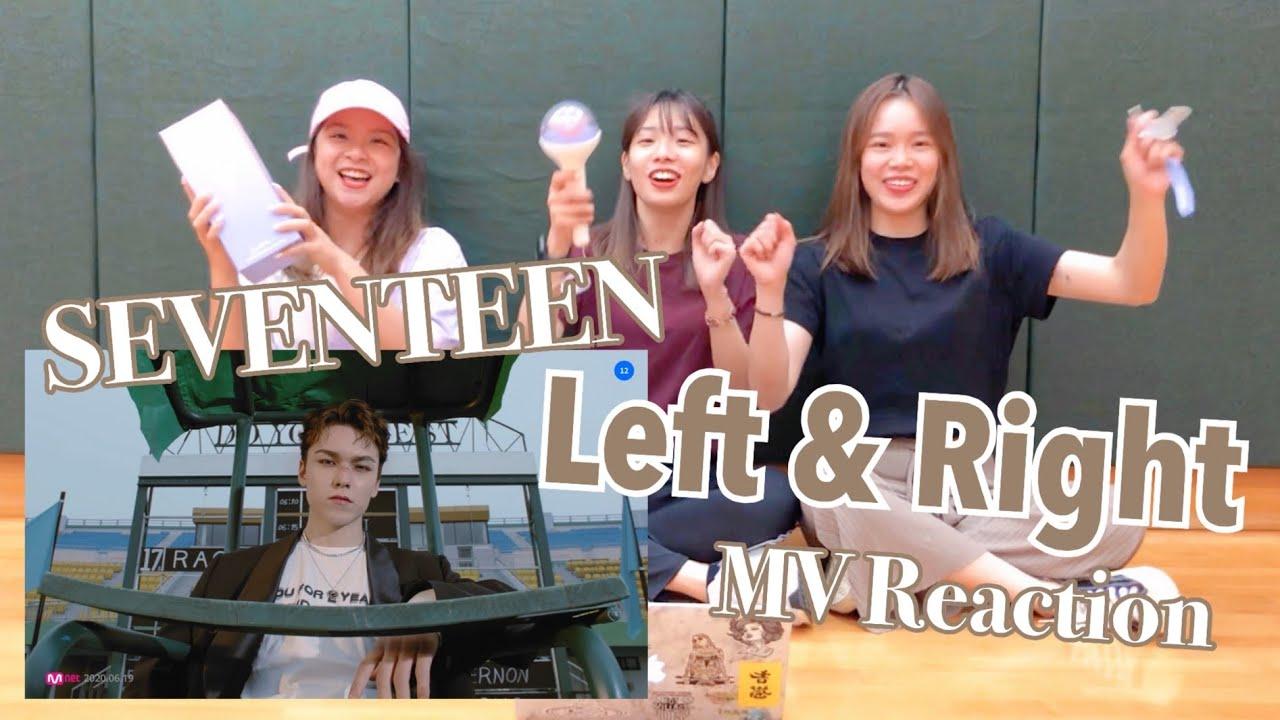 [MV Reaction] SEVENTEEN (세븐틴) - 'Left & Right' 뮤비 리액션 | WISHES(HK) from Hong Kong