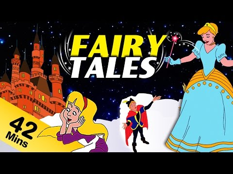 Fairy Tales For Kids in English | Fairy Tales Collection For Children | Cinderella | Snow White