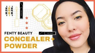 *NEW* Fenty Beauty Concealer + Setting Powder | GBT | soothingsista