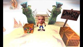 tyler1 Faces Hardest Crash Bandicoot level