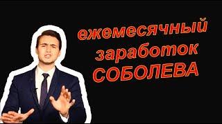 Сколько зарабатывает Николай Соболев | Реальный доход канала SOBOLEV
