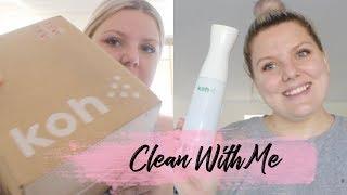 Using ekoWorx to clean! | Does it work? DISCOUNT | Amber Lorraine