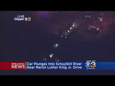 61-Year-Old Driver Rescued After Car Ends Up In Schuylkill River