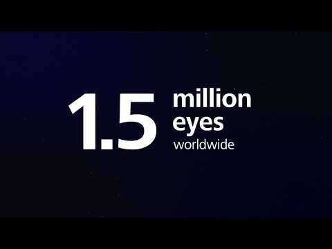 ReLEx SMILE – Over 1.5  million eyes treated worldwide