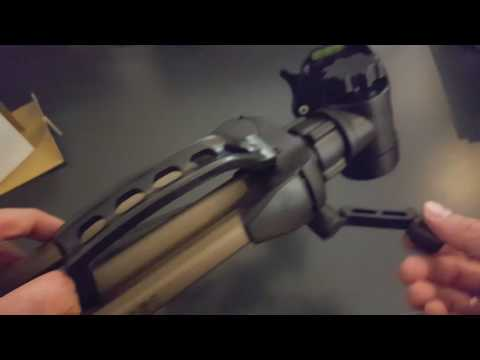 Unboxing: Hama 4161 Tripod star 61 for Camera  with 3D Head