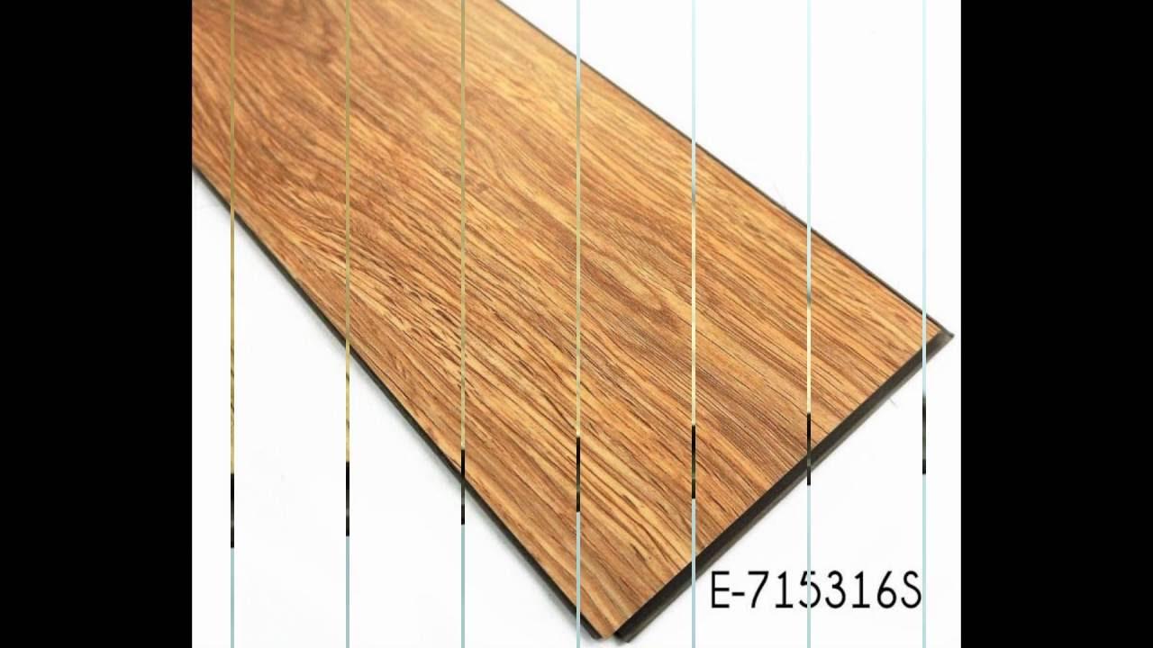 Non Slip Interlocking Vinyl Wood Floor Tiles Manufacturer YouTube - Interlocking vinyl flooring tiles