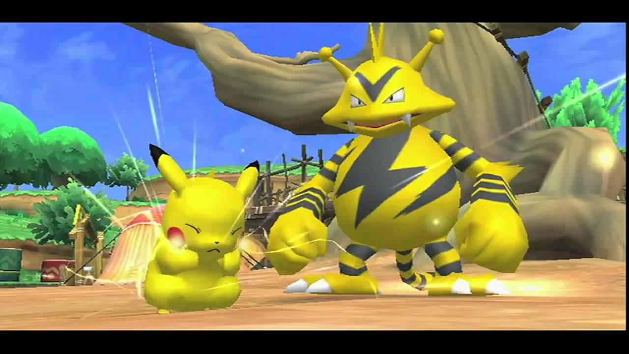 pok park wii pikachu 39 s adventure gameplay trailer us. Black Bedroom Furniture Sets. Home Design Ideas