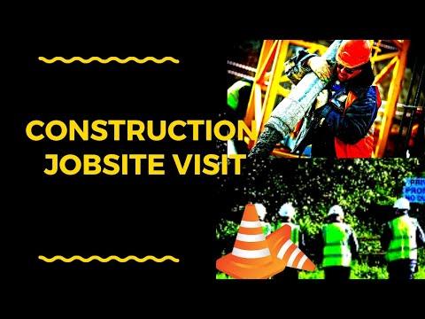 Jobsite visit - Construction Entrepreneurs School and Services