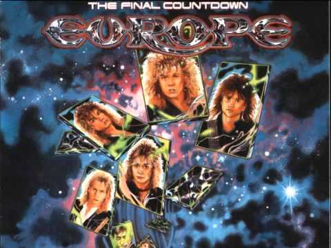 The Final Countdown Backing track w vocals