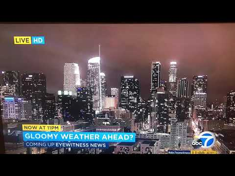 KABC ABC 7 Eyewitness News at 11pm Saturday teaser and open May 19, 2018