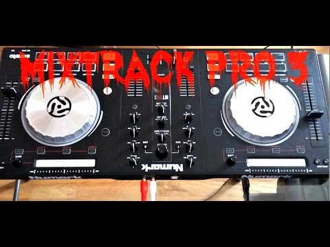 how to connect numark mixtrack pro to virtual dj