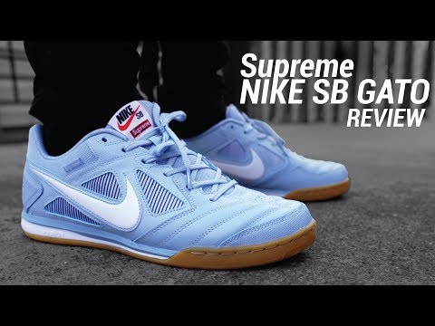 Supreme Nike SB Gato Review & On Feet