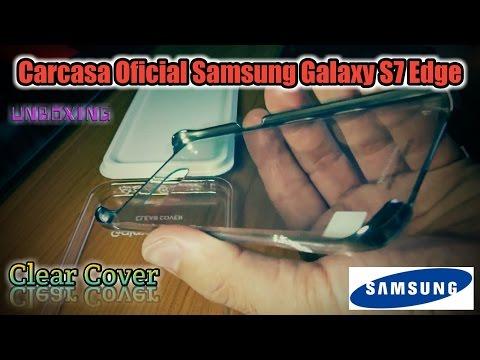 da5212520d2 Unboxing Funda Clear Cover Negro Samsung Galaxy S7 Edge - YouTube