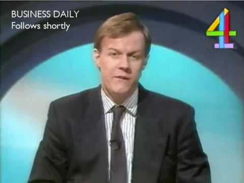 Channel 4 Interval Junction into Business Daily (23rd December 1987)